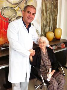foto paciente mais idosa